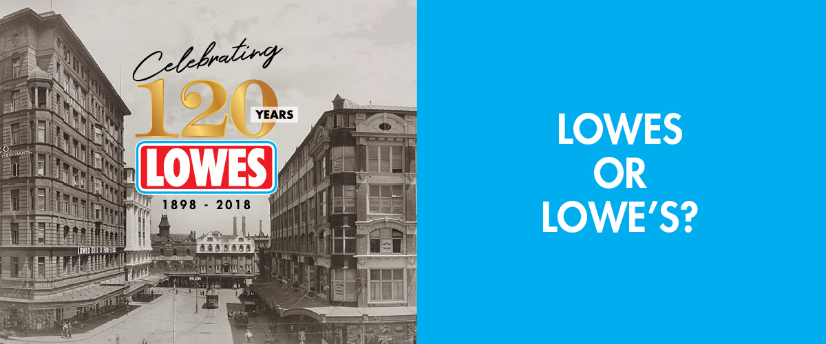 History of Lowes