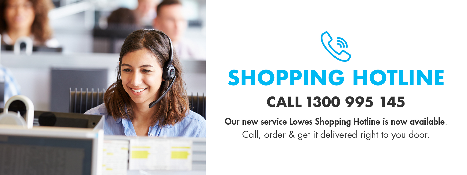 Shopping hotline